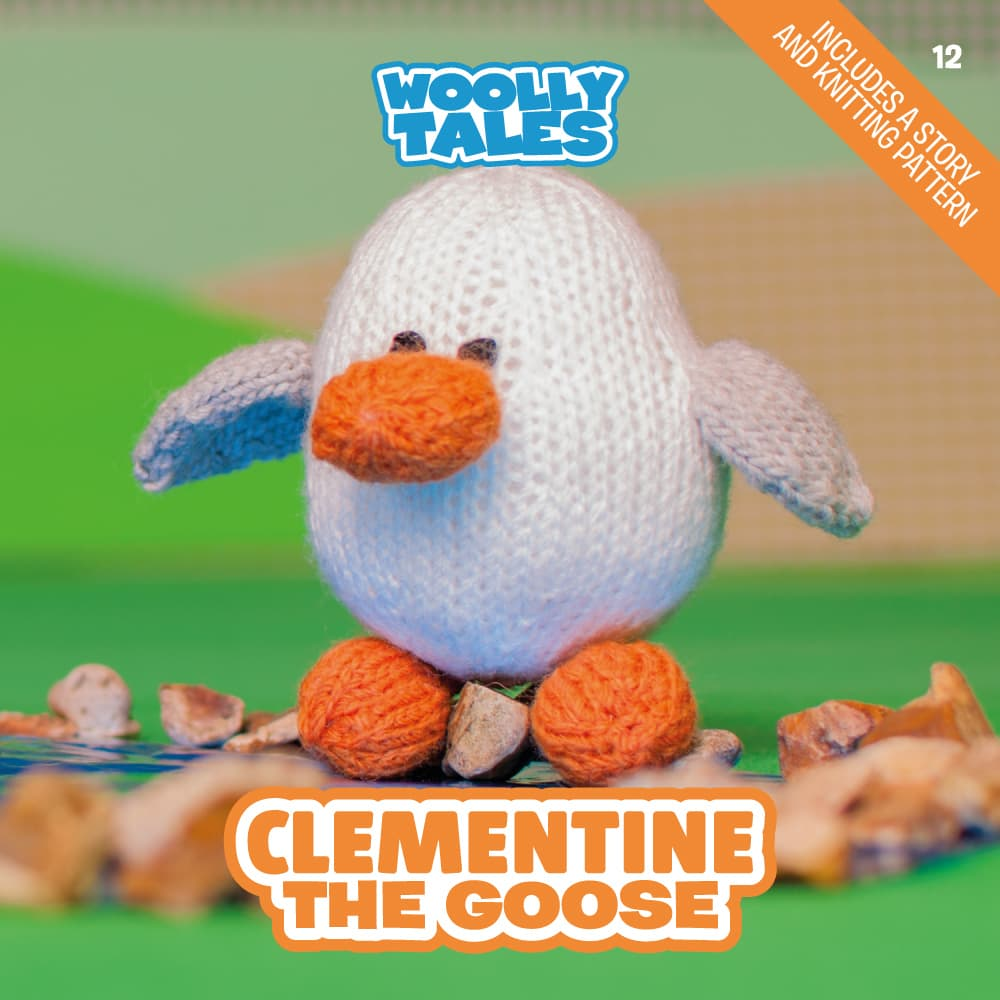 Woolly Tales - Clementine the Goose book cover