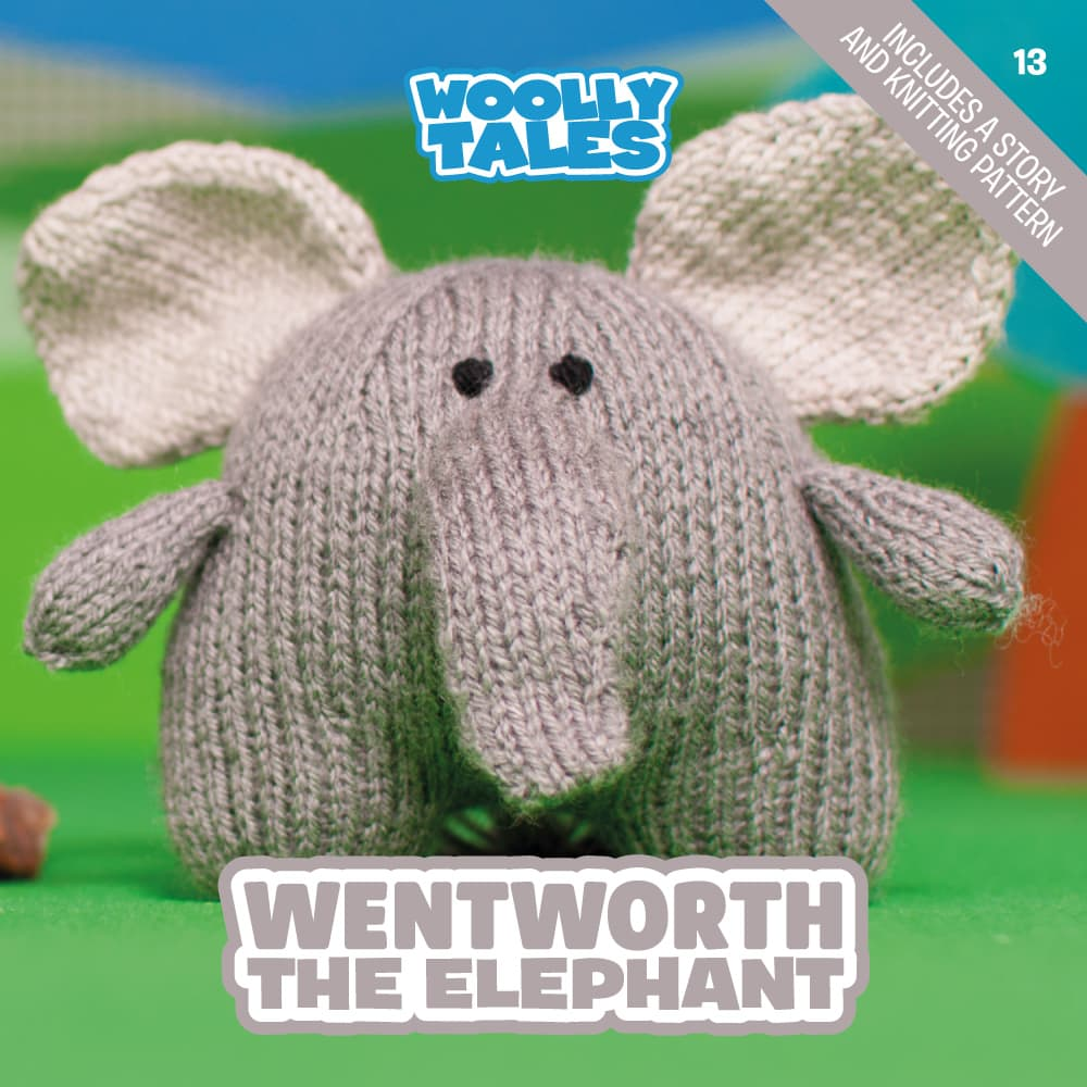 Woolly Tales - Wentworth the Elephant