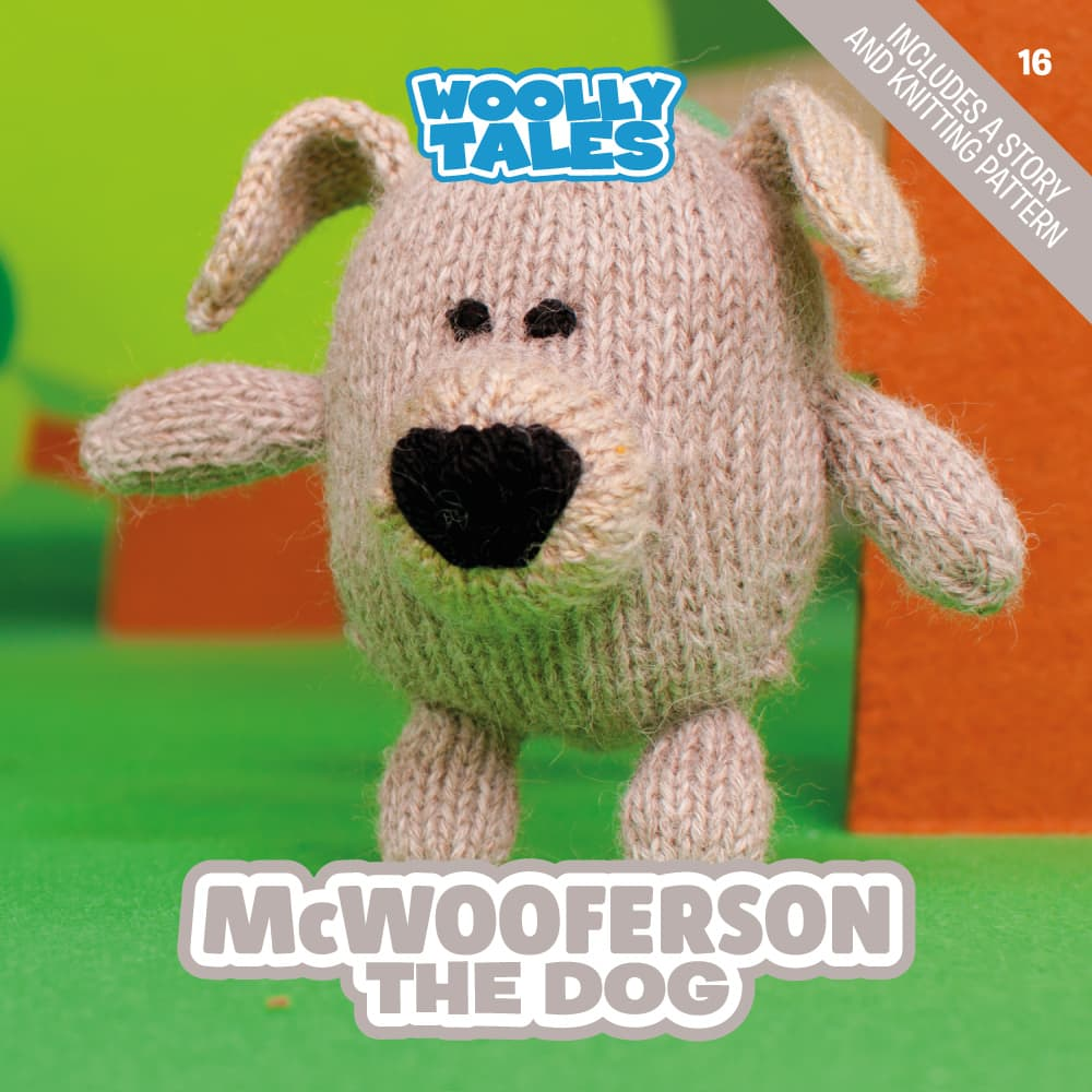Woolly Tales - McWooferson the Dog