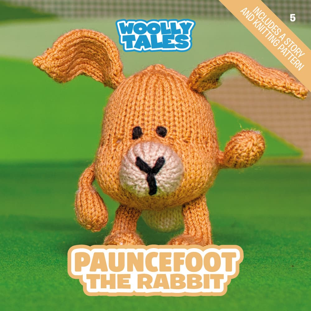 Woolly Tales - Pauncefoot the Rabbit