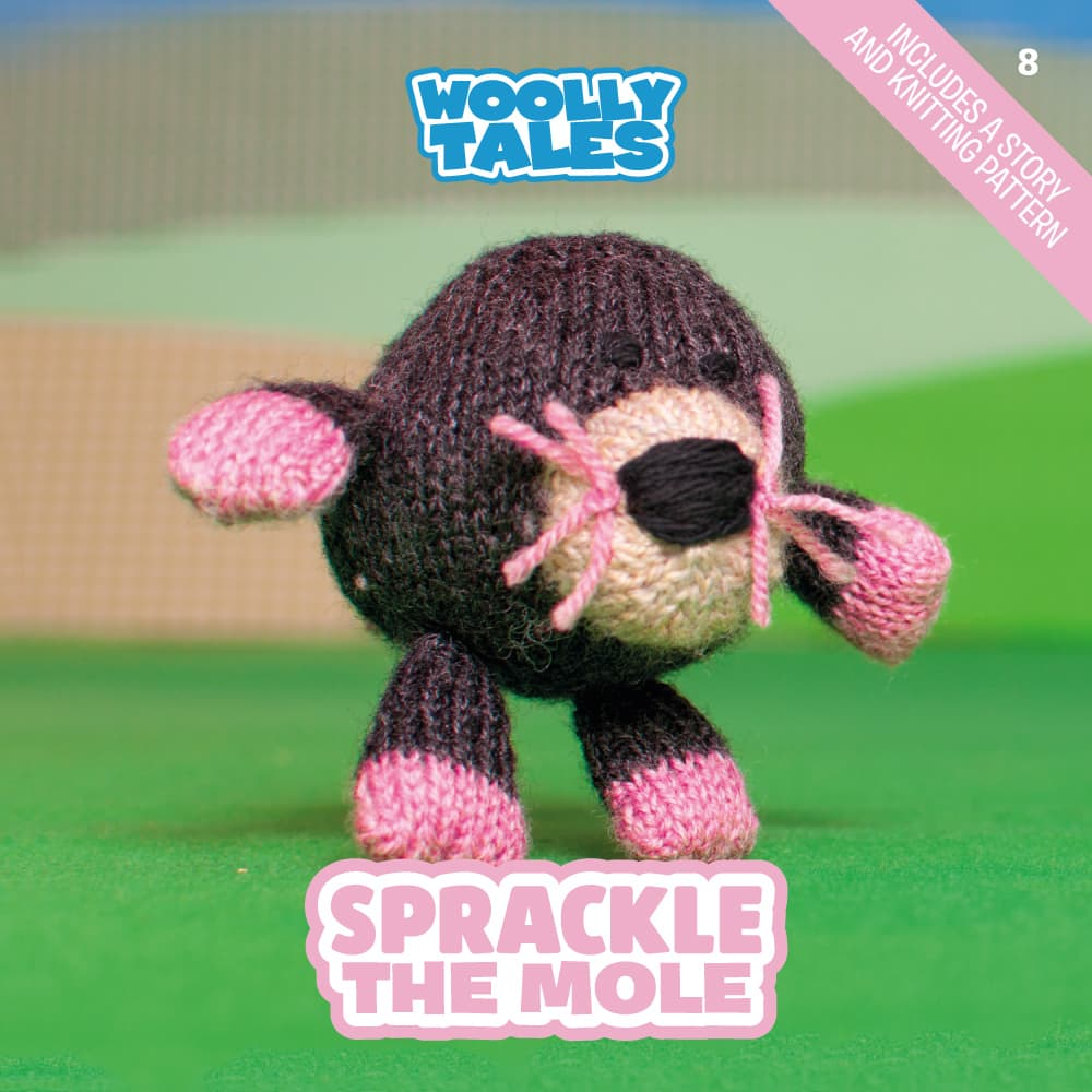 Woolly Tales - Sprackle the Mole