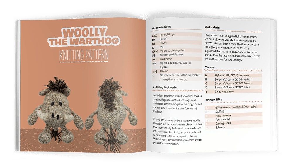 Woolly Tales - Knitting
